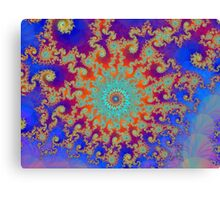 Hurricane In Fractal Land Canvas Print