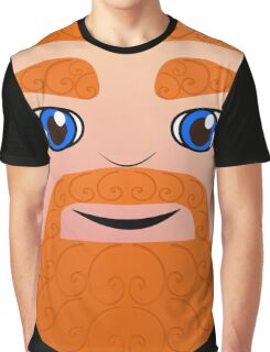 Ginger Head (Blue Eyes) Graphic T-Shirt