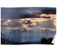 Mount Archibald, Kluane NP, Yukon Poster
