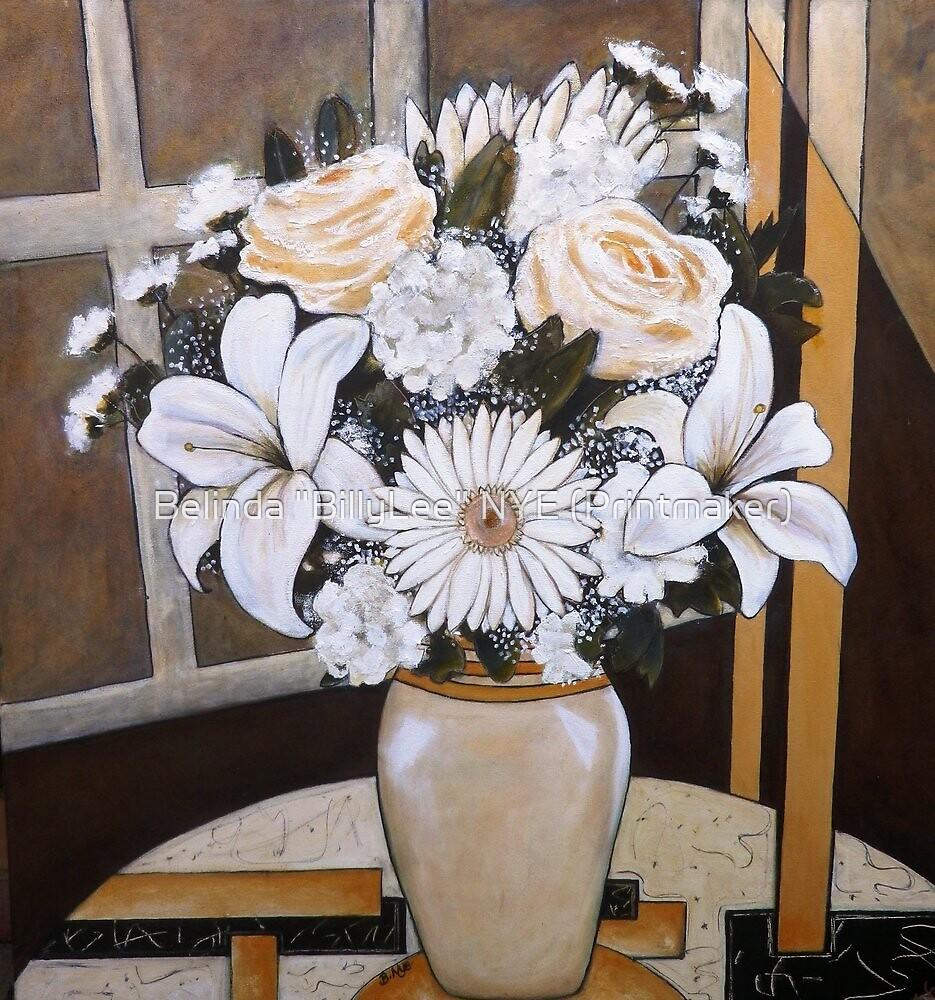 """White Day - Oil Painting by Belinda """"BillyLee"""" NYE (Printmaker)"""