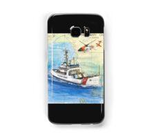 USCG Storis Nautical Chart Map Cathy Peek Samsung Galaxy Case/Skin