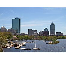 Boston & The Charles River Photographic Print