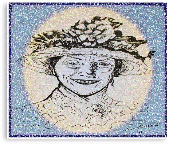 Aunt Ray by IrisGelbart