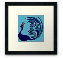 Leafbird Framed Print