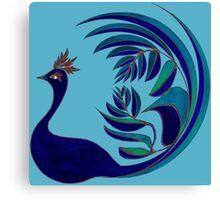 Leafbird Canvas Print