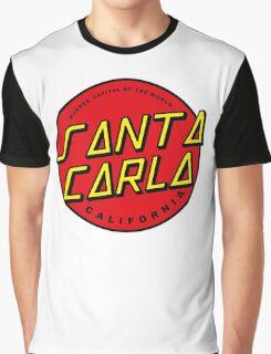 Santa Carla Skate Logo  Graphic T-Shirt