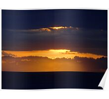 Sunset is coming - Puesta del Sol Poster