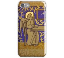 Angel sat at the Table iPhone Case/Skin