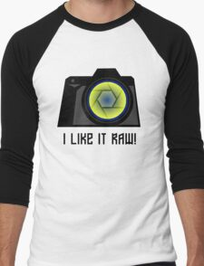 I Like it RAW! Men's Baseball ¾ T-Shirt