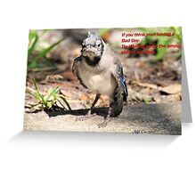 Fallen out of the Nest Greeting Card