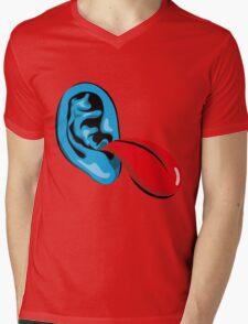 Bla bla Mens V-Neck T-Shirt