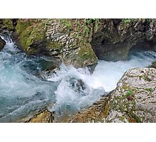 Vintgar gorge - Slovenia Photographic Print