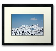 Only one cloud in the Sky Framed Print