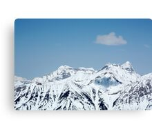 Only one cloud in the Sky Canvas Print