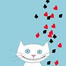 Lucky Lucky Cat by Hannah Baker - Jamface
