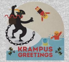 Krampus Greetings III One Piece - Long Sleeve