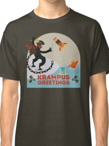 Krampus Greetings III Classic T-Shirt