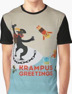 Krampus Greetings III Graphic T-Shirt