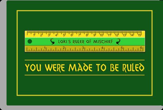 Loki's Ruler of Mischief by sirwatson