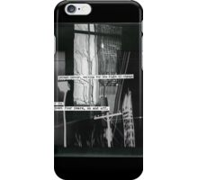 street corner, waiting for the light to change iPhone Case/Skin