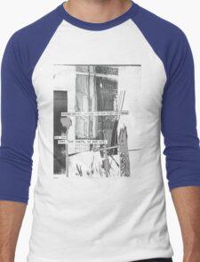street corner, waiting for the light to change Men's Baseball ¾ T-Shirt