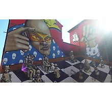 Funky Chess Photographic Print
