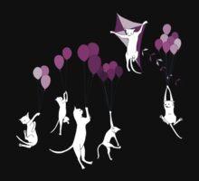 Flying Cats Kids Tee