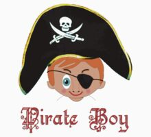 Pirate Boy T-shirt design by Dennis Melling
