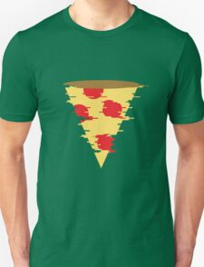 Glitchy Pizza T-Shirt