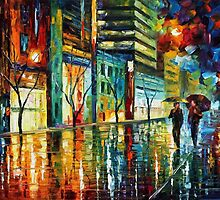 TELAVIV - OIL PAINTING BY LEONID AFREMOV by Leonid  Afremov