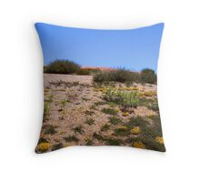 Desert flowers Throw Pillow