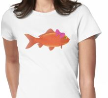 Le Femme Fish. Womens Fitted T-Shirt