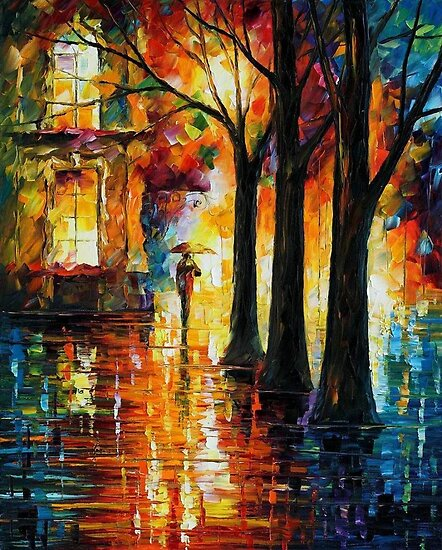 SUPPRESSED MEMORIES - OIL PAINTING BY LEONID AFREMOV by Leonid  Afremov