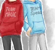 Team Magic vs. Team Speed (Tommy and Billy ver.) Sticker