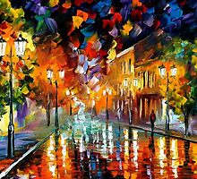 REMEMBERING - OIL PAINTING BY LEONID AFREMOV by Leonid  Afremov