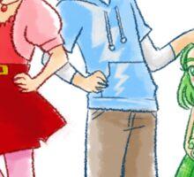 Little Wanda, Pietro and Lorna Sticker