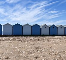 The Blues Of Charmouth, Dorset by lynn carter