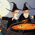 George Osborne and Witch Pals by GaryBarker