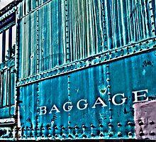 Abandoned Baggage Car- abandoned train yard by MJD Photography  Portraits and Abandoned Ruins