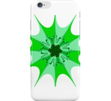 Mesem Fractal Green iPhone Case/Skin