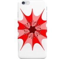 Mesem Fractal Red iPhone Case/Skin