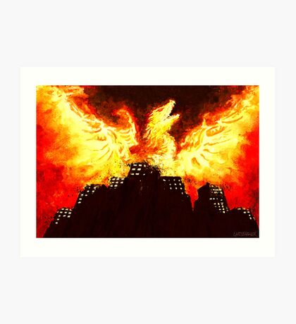 The Commercial Property Phoenix Art Print