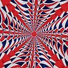 Union Flag Abstract by Steve Purnell