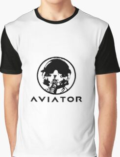 Aviator Fighter Pilot Graphic T-Shirt