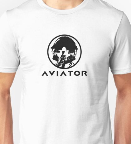 Aviator Fighter Pilot Unisex T-Shirt