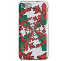 The Welsh Dragon Abstract iPhone Case/Skin