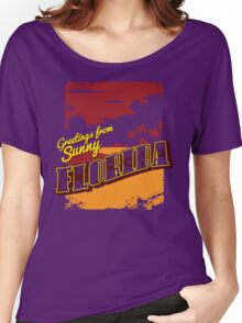 Greetings from Zombie Florida! Women's Relaxed Fit T-Shirt