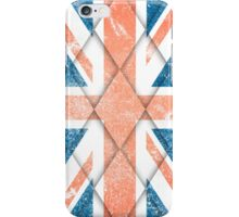 Union Jack Grunge and Diamond Drop Iphone case iPhone Case/Skin