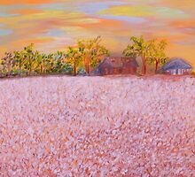 Cotton at Sunset by EloiseArt