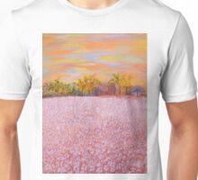 Cotton at Sunset Unisex T-Shirt